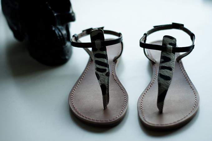 Les tropéziennes par M Belarbi summer sandals leopard ponyhair minimalistic flats blogger sarenza