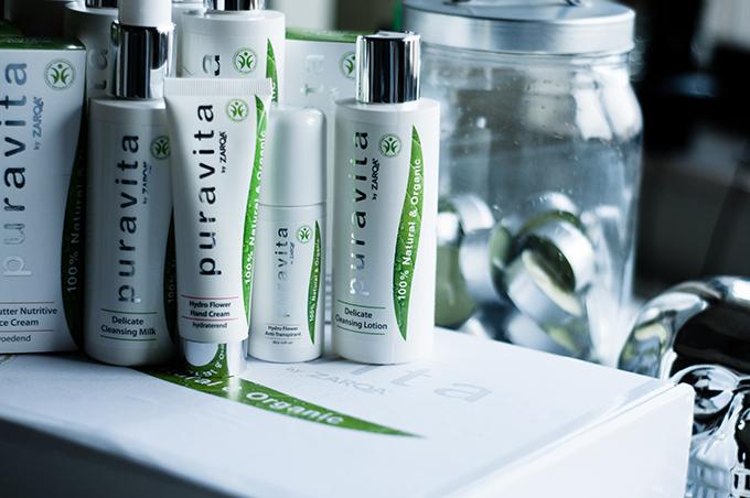 Puravita products zarqa organic line review