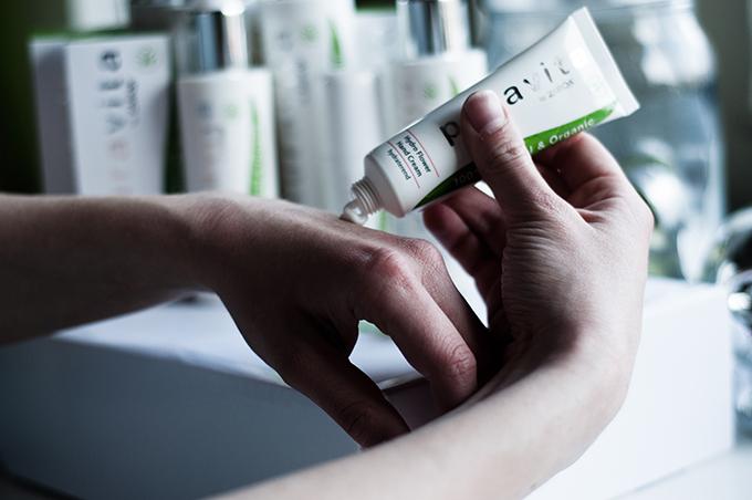 Puravita cosmetics hand creme cream blogger test review beauty