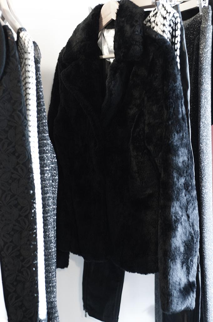 F/W 13 bristol faux fur coat