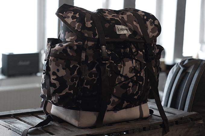 F/W 13 Eastpak school bags army print bag