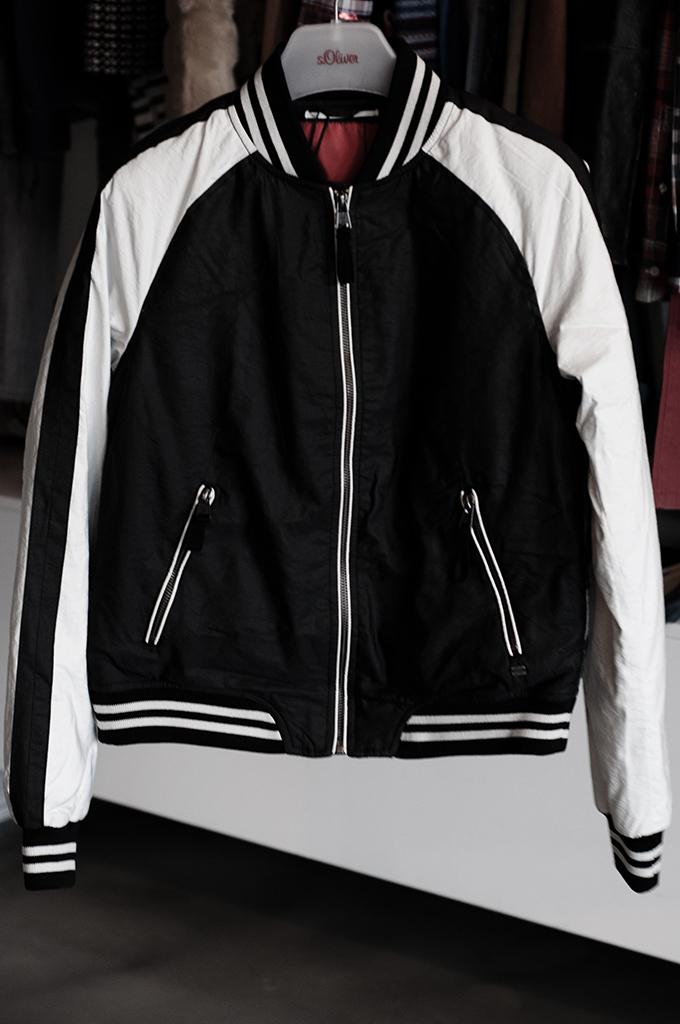 F/W 13 s.Oliver bomber jacket black and white