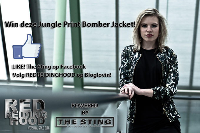 giveaway bomber jacket the sting win blog blogger fashion