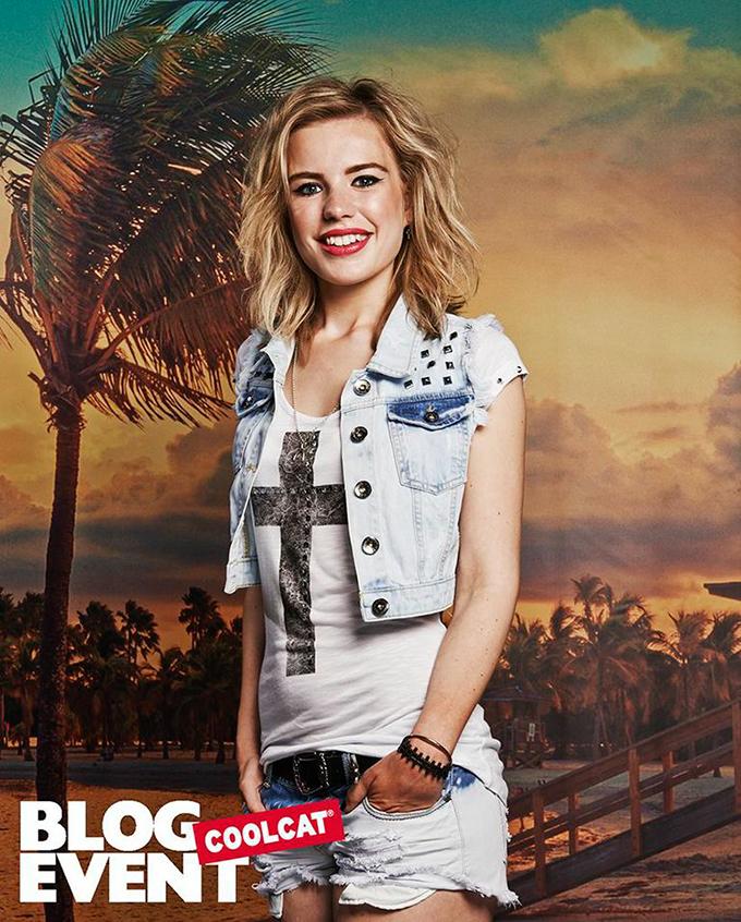 Rowan Reiding Red Reiding Hood blogger fashion photoshoot cali california style shorts denim Amsterdam store