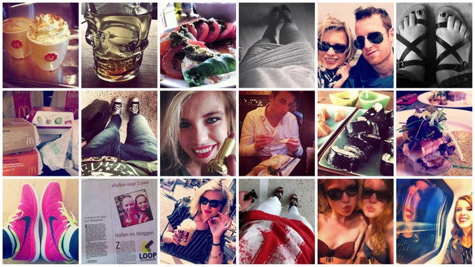 Instadiary instaweek fashion blogger Red Reiding Hood instagram photos diary Nike Flyknit sushi foodporn coffee douwe egberts café Leeuwarden