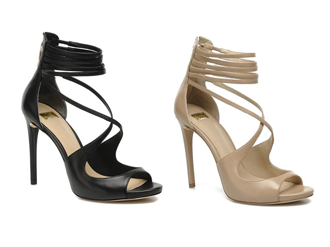 sarenza guess marciano wanted wishlist lena sandals heels pumps ordered details fashion blogger straps