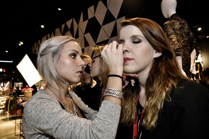 Kayleigh Reiding sister Rowan Red Reiding Hood make up Mac CoolCat Amsterdam blogger event beauty