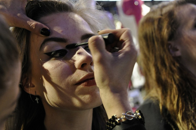 Details make up eyeliner how to tutorial beauty blogger fashion CoolCat Mac event Amsterdam