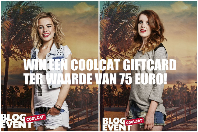 CoolCat hot summer giveaway give away winactie win giftcard 75 euro fashion blogger event awareness engineers