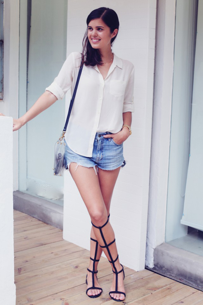 Inspiration DIY alexander wang gladiator sandals shoes tutorial how to make create your own
