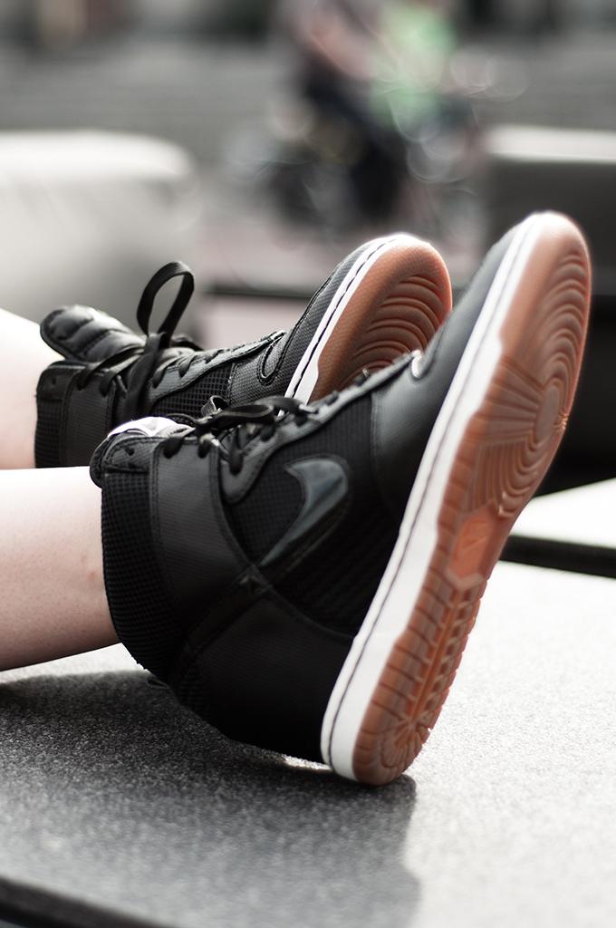 Details shoes Nike Dunk Sky high hi sneakers sneakerwedges wedgesneakers wedge spartoo