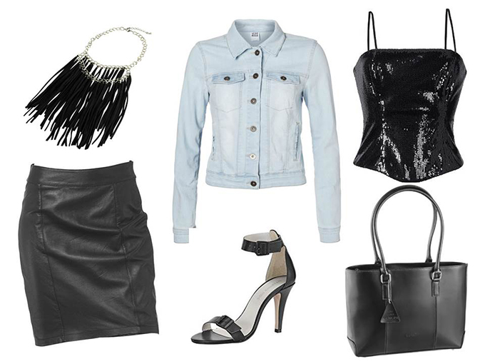 Stylediscount collage outfit kortingscode OTTO rock korting discount