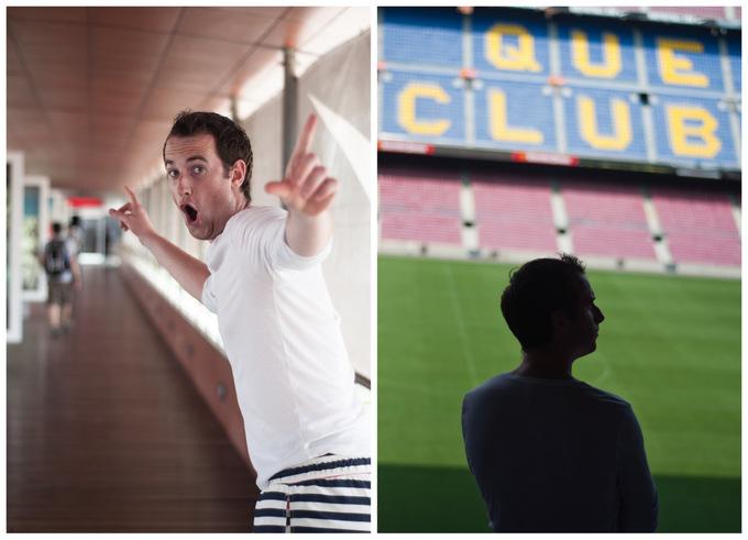 Camp Nou experience visit Barcelona FCB futboll soccer club football spain holiday vacation must-visit must-see Barca guide 2013 boys men