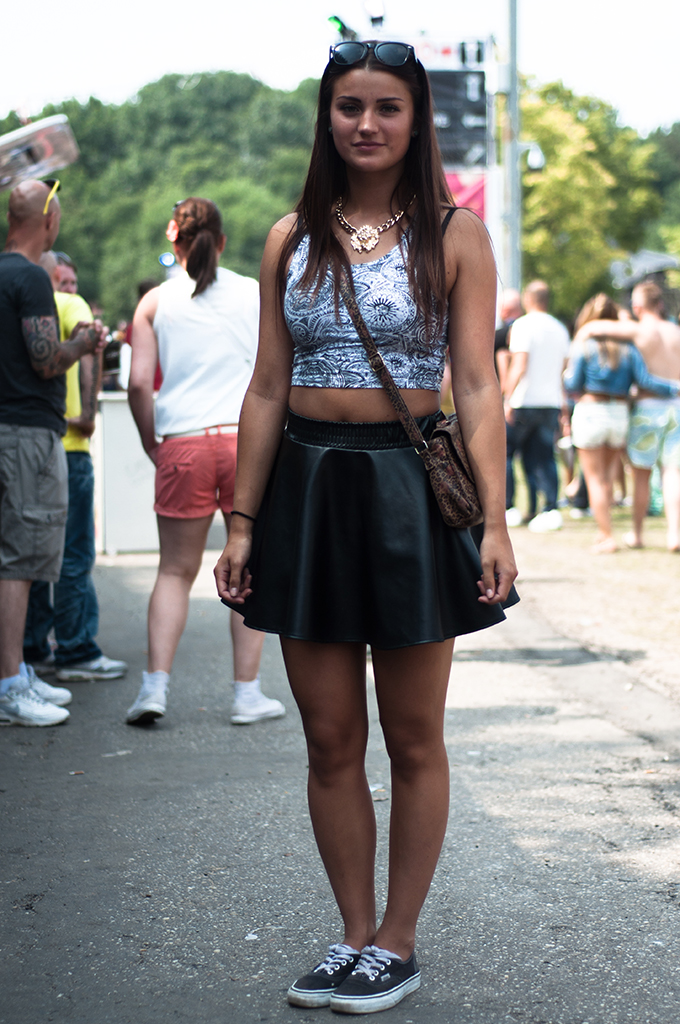 Streestyle Christianne stylish festival people streestyle Extrema Outdoor XO live 2013 gespot leather