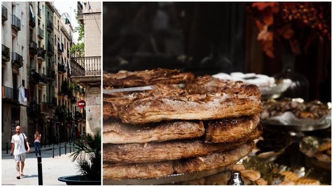 El Born neighbourhood jaume 1 bakery bakeries cute small streets shops barcelona barca BCN balconies tips guide 2013