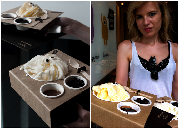 Eyescream and friends toppings ice cream best Barcelona 2013 tips tricks delicious passeig joan de borbo