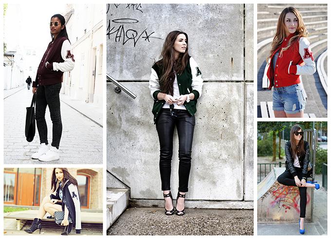 American College varsity jacket fashion blogger wearing streetstyle COTTDS StyleScrapbook