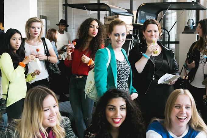 Red Reiding Hood: Blogger meet-up Amsterdam fashion blogger event The Big U 6 Unlimited PR