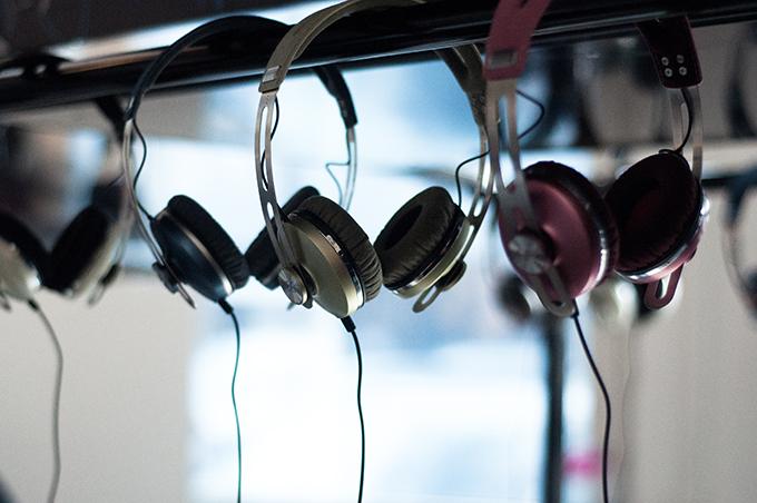 Red Reiding Hood: Sennheiser momentum on-ear pink green blue colors headphones Unlimitd PR the big U 6