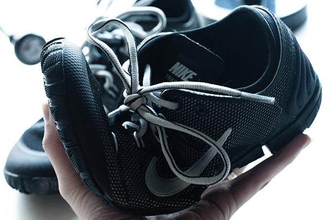 Red Reiding Hood: Nike Free Bionic training sneakers sarenza details barefoot flexibel