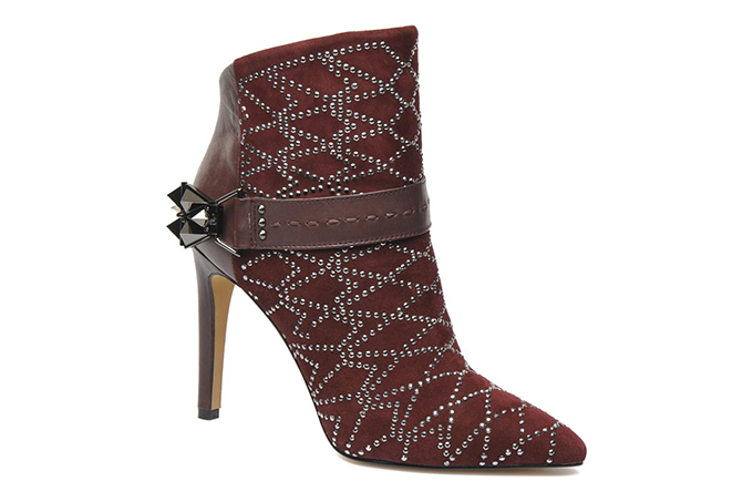 Fashion blogger Sam Edelman shoes cowboy burgundy issabel marant ankle boots sarenza
