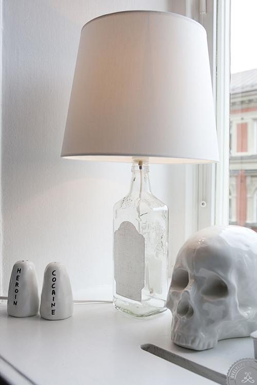 RED REIDING HOOD: Home inspiration scandinavian industrial black and white minimalistic heroine cocaine salt pepper skull