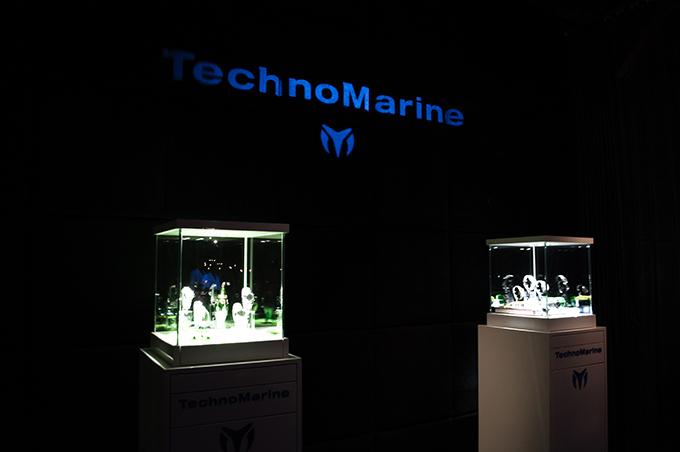 RED REIDING HOOD: Technomarine watches display Amsterdam Harbour Club