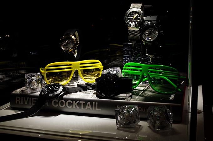 RED REIDING HOOD: Sporty watches TechnoMarine luxury brand event