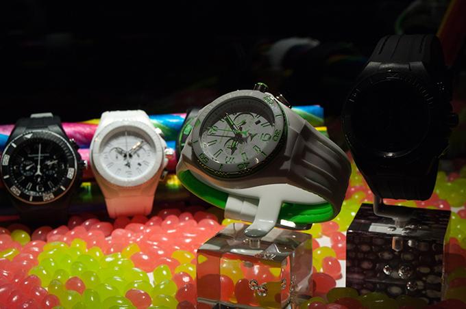 RED REIDING HOOD: TechnoMarine sporty watches luxury brand black white event Amsterdam