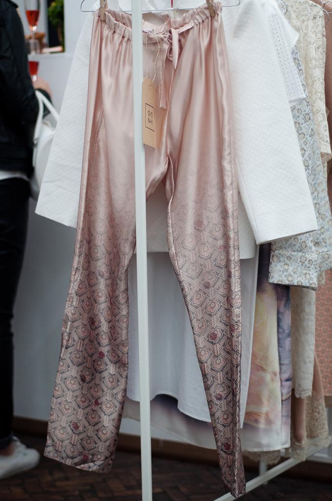 RED REIDING HOOD: Oona Welcome Days pj pyjama pants powder pink lingerie trend just in case