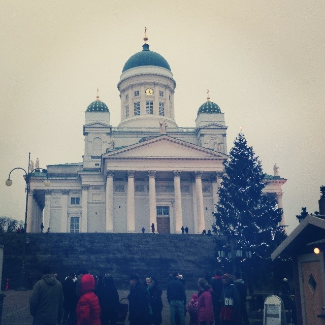 RED REIDING HOOD: Instadiary instaweek instagram Helsinki white Saint Thomas Church square market christmas december