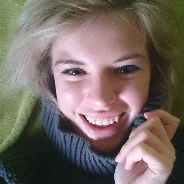 RED REIDING HOOD: Dutch scandinavian girl blond blonde Hope Grand sweater turtleneck knitted happy beautiful big laugh Red Reiding Hood instagram instadiary