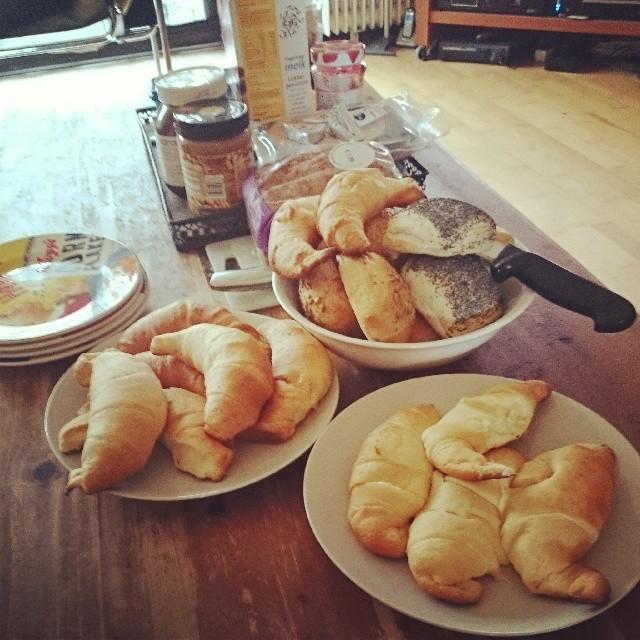RED REIDING HOOD: Fashion blogger instagram instadiary instaweek Christmas breakfast kerst ontbijt croissants