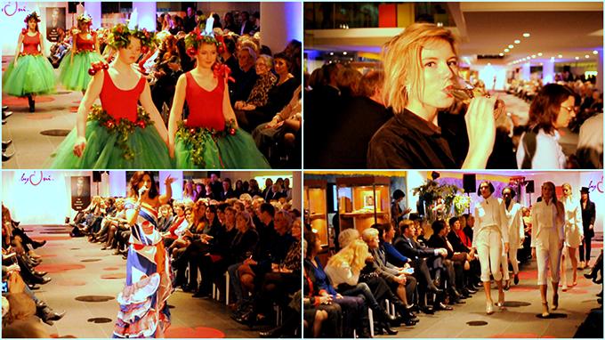 RED REIDING HOOD: byOni high fashion show event video YouTube Leeuwarden Fries Museum Moniek Miedema
