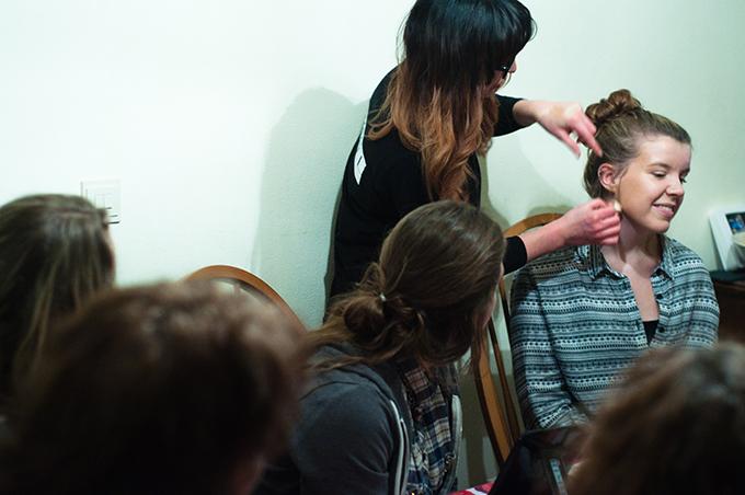 RED REIDING HOOD: Rimmel London RIMMEL@HOME workshop party Anneloes Huiskens Kim Kardashion make up look tutorial