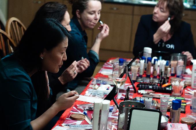 RED REIDING HOOD: Ervaring Rimmel@Home party workshop gezellig nuttig leerzaam familie vrienden blogger blog