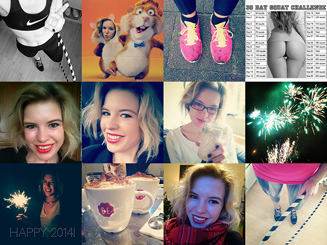 RED REIDING HOOD: Fashion blogger week in instagram