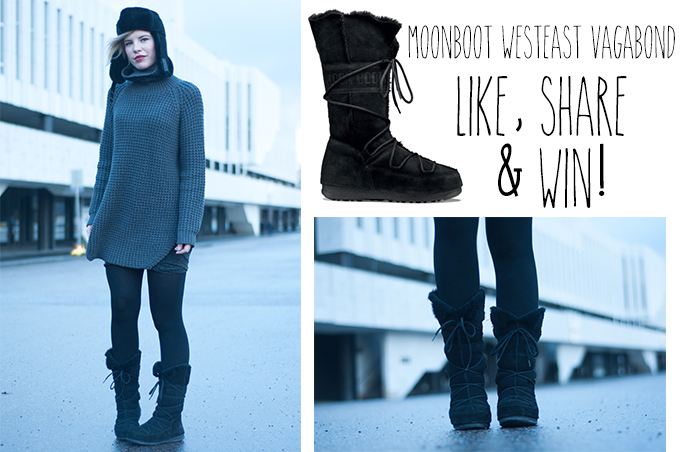RED REIDING HOOD: Winactie giveaway win Moon Boot West East Vagabond snow boots fashion blog blogger