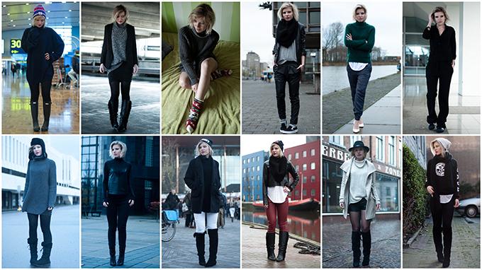 Fashion blogger outfits december 2013 recap