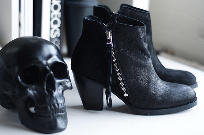 RED REIDING HOOD: Acne Pistol boots KO sacha shoes black leather snake print skull urban outfitters