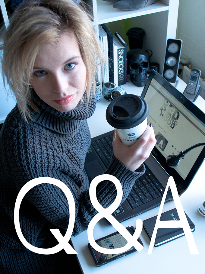 RED REIDING HOOD: Ask me Q&A blogger fashion questions