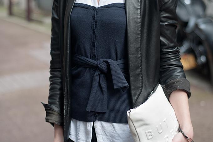 RED REIDING HOOD: afterdrk cashmere corset DIY bustier navy blue