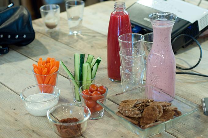 RED REIDING HOOD: Mooi onder één kap lente-detox gezonde hapjes bloggers event