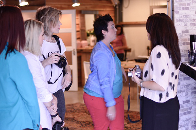 RED REIDING HOOD: Mooi onder één kap bloggers event 5 april foto's