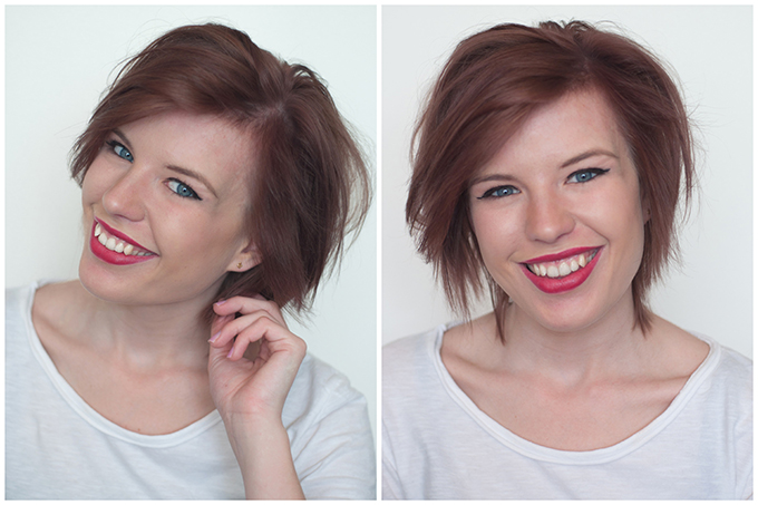 RED REIDING HOOD: New hair color Schwarzkopf Nectra Color 668 Hazelnut review blogger