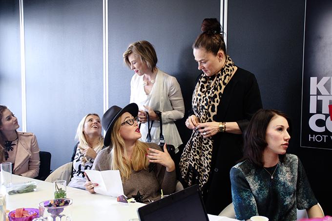 RED REIDING HOOD: Fashion bloggers CoolCat projectcool T-shirt brainstorm sessie