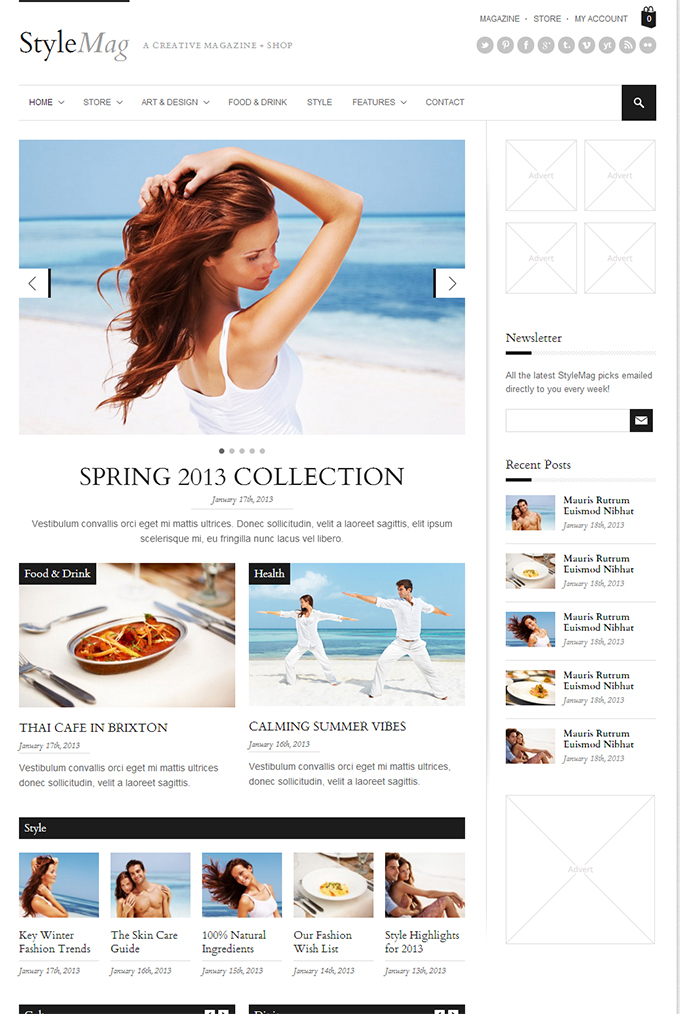 StyleMag   A Creative Magazine + Shop