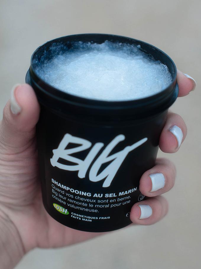 RED REIDING HOOD: Beauty blogger Lush Big Shampoo review ervaring big hair volume
