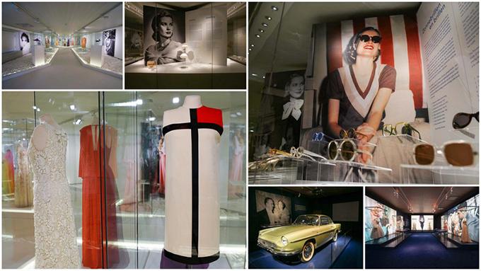 RED REIDING HOOD: Grace Kelly prinses en stijlicoon Paleis Het Loo tentoonstelling Monaco Mondriaan jurk auto