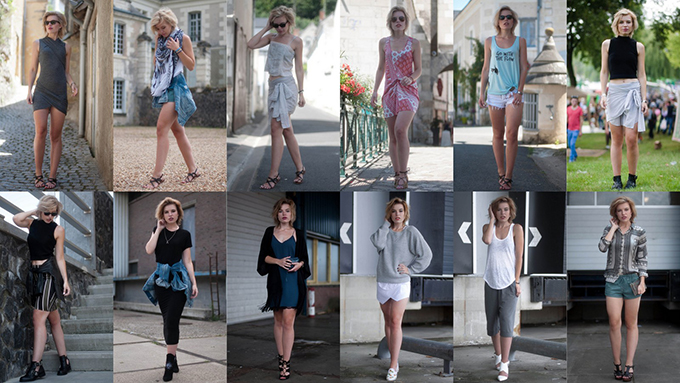 RED REIDING HOOD: Fashion blogger july outfits recap